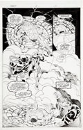 Original Comic Art:Splash Pages, Frank Fosco and Andrew Pepoy Teenage Mutant Ninja Turtles#11 Splash page 11 Original Art (Image, 1997)....