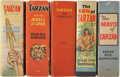 Platinum Age (1897-1937):Miscellaneous, Big Little Book Tarzan-Themed Group (Whitman, 1934-40) Condition:Average VF.... (Total: 5 )