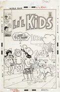 Original Comic Art:Covers, Li'l Kids #2 Cover Original Art (Marvel, 1970)....