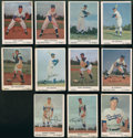 Baseball Cards:Sets, 1960 Bell Brand Potato Chips Los Angeles Dodgers Partial Set (11)....