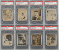 Baseball Cards:Lots, 1948 Swell Babe Ruth Story PSA-Graded Near Set Lot of 15....(Total: 15 card)