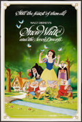 "Movie Posters:Animated, Snow White and the Seven Dwarfs (Buena Vista, R-1983). Poster (40""X 60""). Animated.. ..."