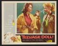 "Movie Posters:Bad Girl, Teenage Doll (Allied Artists, 1957). Lobby Cards (8) (11"" X 14"").Bad Girl.. ... (Total: 8 Items)"