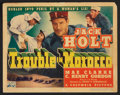 "Movie Posters:Adventure, Trouble in Morocco (Columbia, 1937). Lobby Card Set of 8 (11"" X14""). Adventure.. ... (Total: 8 Items)"