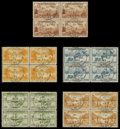 Stamps, 1933 Labrador Issue (C13-17),... (Total: 1 Misc)