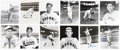 Autographs:Photos, St. Louis Browns Single Signed Photograph Lot of 35.... (Total: 35items)
