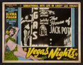 "Movie Posters:Documentary, Vegas Nights (Continental, 1948). Lobby Cards (3) (11"" X 14""). Documentary.. ... (Total: 3 Items)"
