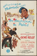 """Movie Posters:Musical, An American in Paris (MGM, 1951). One Sheet (27"""" X 41""""). Musical.. ..."""