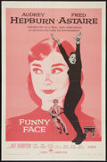"Movie Posters:Romance, Funny Face (Paramount, 1957). One Sheet (27"" X 41""). Romance.. ..."