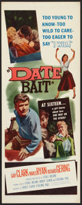 "Movie Posters:Bad Girl, Date Bait (Film Group, 1960). Insert (14"" X 36""). Bad Girl.. ..."
