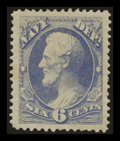 Stamps, 6c Navy (O38),...