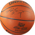 Autographs:Others, Kobe Bryant Signed Leather NBA Finals Basketball....
