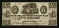 Obsoletes By State:Ohio, Kirtland, OH- The Kirtland Safety Society Bank $5 Feb. 10, 1837 G8Wolka 1424-10 Rust 7. ...