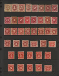 Stamps, 1c - $5 Postage Due Issues (J3//J104),... (Total: 2 Card)