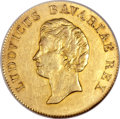 German States:Bavaria, German States: Bavaria. Ludwig I gold Ducat 1826,...