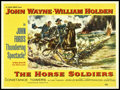 """Movie Posters:Western, The Horse Soldiers (United Artists, 1959). British Quad (30"""" X 40""""). Western.. ..."""