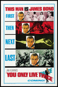 "Movie Posters:James Bond, You Only Live Twice (United Artists, 1967). One Sheet (27"" X 41"") Advance. Flat Folded. James Bond.. ..."