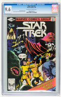Modern Age (1980-Present):Science Fiction, Star Trek #4 (Marvel, 1980) CGC NM+ 9.6 Off-white to whitepages....