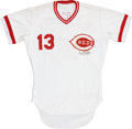 Autographs:Jerseys, 1980 Dave Concepcion Game Worn Jersey....