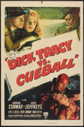 "Movie Posters:Crime, Dick Tracy vs. Cueball (RKO, 1946). One Sheet (27"" X 41""). Crime....."