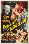 "Movie Posters:Adventure, Don Juan's Night of Love (Republic, 1955). One Sheet (27"" X 41"").Adventure.. ..."