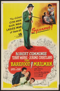 """Movie Posters:Adventure, The Barefoot Mailman (Columbia, 1951). One Sheet (27"""" X 41"""").Adventure.. ..."""