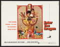 """Movie Posters:Action, Enter the Dragon (Warner Brothers, 1973). Half Sheet (22"""" X 28""""). Action.. ..."""