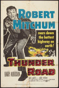 "Movie Posters:Crime, Thunder Road (United Artists, 1958). One Sheet (27"" X 41""). Crime....."