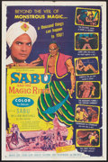 """Movie Posters:Adventure, Sabu and the Magic Ring (Allied Artists, 1957). One Sheet (27"""" X41""""). Adventure.. ..."""