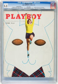Magazines:Miscellaneous, Playboy #11 Newsstand Edition (HMH Publishing, 1954) CGC FN- 5.5White pages....