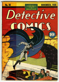 Detective Comics #33 (DC, 1939) Condition: Coverless