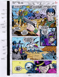 Original Comic Art:Miscellaneous, Ron Wagner and Fred Federicks - G. I. Joe: An American Hero #110Hand-Colored Color Guide Original Art, Group of 17 (Marvel, 1...(Total: 17)