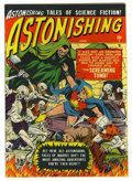 Golden Age (1938-1955):Science Fiction, Astonishing #4 (Atlas, 1951) Condition: FN-....