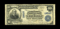 National Bank Notes: , Natchez, MS - $10 1902 Plain Back Fr. 635 The Britton & Koontz NB Ch. # 12537. ...
