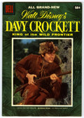 Golden Age (1938-1955):Miscellaneous, Dell Giant Comics Davy Crockett King of the Wild Frontier #1 - File Copy (Dell, 1955) Condition: VF+....