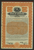 Miscellaneous:Other, State of Louisiana Port Commission Serial Gold $500 Bond of 1914.....