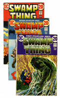 Bronze Age (1970-1979):Horror, Swamp Thing Group (DC, 1972-76) Condition: Average FN.... (Total:30 )