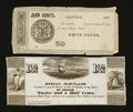 Obsoletes By State:Maryland, Berlin, MD- Unidentified Issuer 12 1/2¢ Shank UNL. Chaptico, MD- Unidentified Issuer 50¢ 1837 Shank UNL. ... (Total: 2 notes)