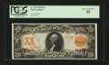 Large Size:Gold Certificates, Fr. 1181 $20 1906 Gold Certificate PCGS Choice About New 55....