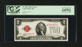 Error Notes:Obstruction Errors, Fr. 1501 $2 1928 Legal Tender Note. PCGS Very Choice New 64PPQ.....