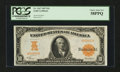 Large Size:Gold Certificates, Fr. 1167 $10 1907 Gold Certificate PCGS Choice About New 58PPQ....