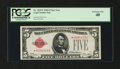 Fr. 1525* $5 1928 Legal Tender Note. PCGS Extremely Fine 40