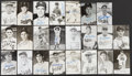 Autographs:Others, Dodgers Stars Single-Signed Lot of 34.... (Total: 34 items)