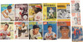 Autographs:Others, Baseball Stars Signed Vintage Magazine Lot of 13.... (Total: 13items)