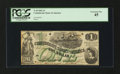 Confederate Notes:1862 Issues, T45 $1 1862.. ...