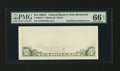 Error Notes:Blank Reverse (<100%), Fr. 2028-E $10 1988A Federal Reserve Note. PMG Gem Uncirculated 66EPQ.. ...