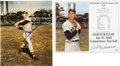 Autographs:Photos, Ted Williams Signed Photograph Lot of 2.... (Total: 2 items)