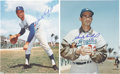 Autographs:Photos, Sandy Koufax Signed Photo Lot of 2....