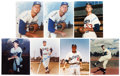 Autographs:Photos, Dodgers Signed Photograph Lot of 7.... (Total: 7 card)