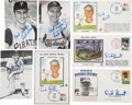 Autographs:Others, Dick Groat Signed Lot of 10.... (Total: 10 items)